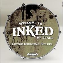 Evans 22 Inked Custom