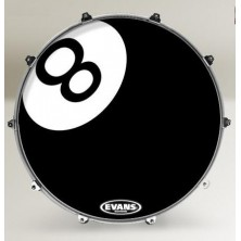 Evans 22 Inked Graphics 8 Ball