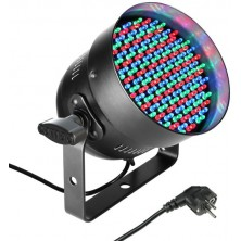 Cameo Par 56 Can Led Rgb In Black Housing