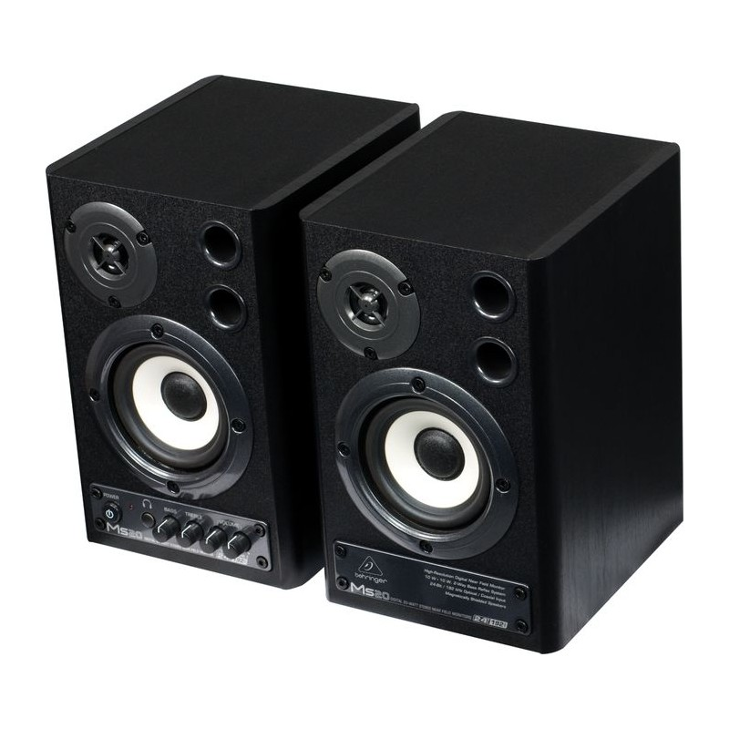 Behringer Ms20 Digital Monitor Speakers (Pareja)