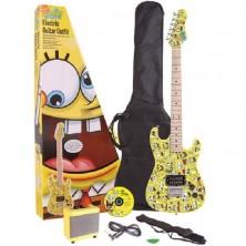 Pack Guitarra El?ctrica Bob Esponja Sbe78Oft