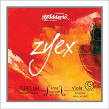 "D'Addario Dz413 Zyex Lm 16"" Medium"