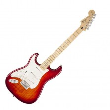 Fender Standard Stratocaster Lh Plus Top Mn-Acb