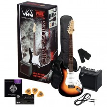 Vgs Guitar Pack Sunburst + Amplificador