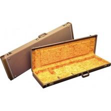 Fender Jazz Bass Deluxe Case Brown