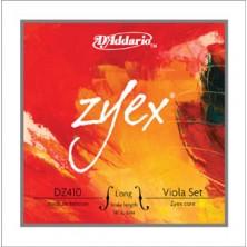 """D'Addario Dz410 Zyex Escala Larga Lm 16"""" Medium"""