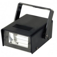 Beamz Mini Estrobo, Caja De Plastico, 20W