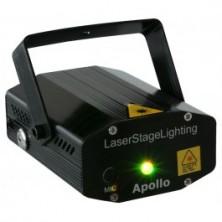 Beamz Apollo Laser Multipunto - Rojo + Verde