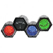 Beamz Efecto De Luz Led De 3 Modulos Interconexionable