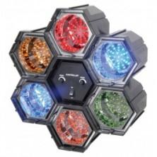 Beamz Efecto De Luz Led Con 6 Modulos Interconexionables