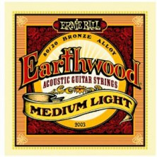 Ernie Ball Earthwood Medium Light 12-54