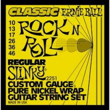Ernie Ball 2251 Classic Pure Nickel Regular Slinky 10-46