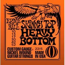 Ernie Ball 2215 Skinny Top Heavy Bottom Slinky 10-52