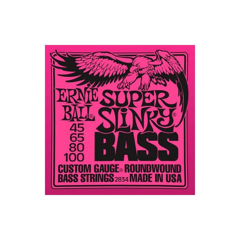 Ernie Ball 2834 Super Slinky 45-100