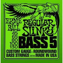 Ernie Ball Regular Slinky 45-130 5 Strings