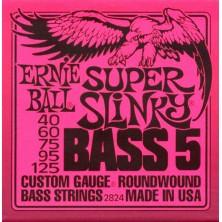 Ernie Ball Super Slinky 40-125 5 Strings