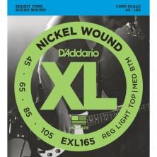 D'Addario Exl165 Long Scale 45-105
