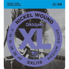 D'Addario Exl115-Xl Blues/Jazz Rock 11-49
