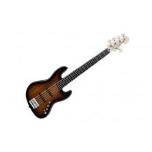 Squier Deluxe Jazz Bass V Active 3-Color Sunburst