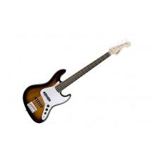 Squier Affinity Jazz Bass V Brown Sunburst
