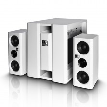 Ld Systems Dave 8 Xs W - Sistema De Pa Compacto Activo Blanco
