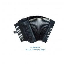 Hohner Compadre Sol-Do-Fa Negro