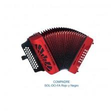 Hohner Compadre Sol-Do-Fa Rojo