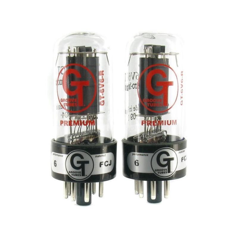 Groove Tubes Gt-6V6-R Med Duet Set 4 V