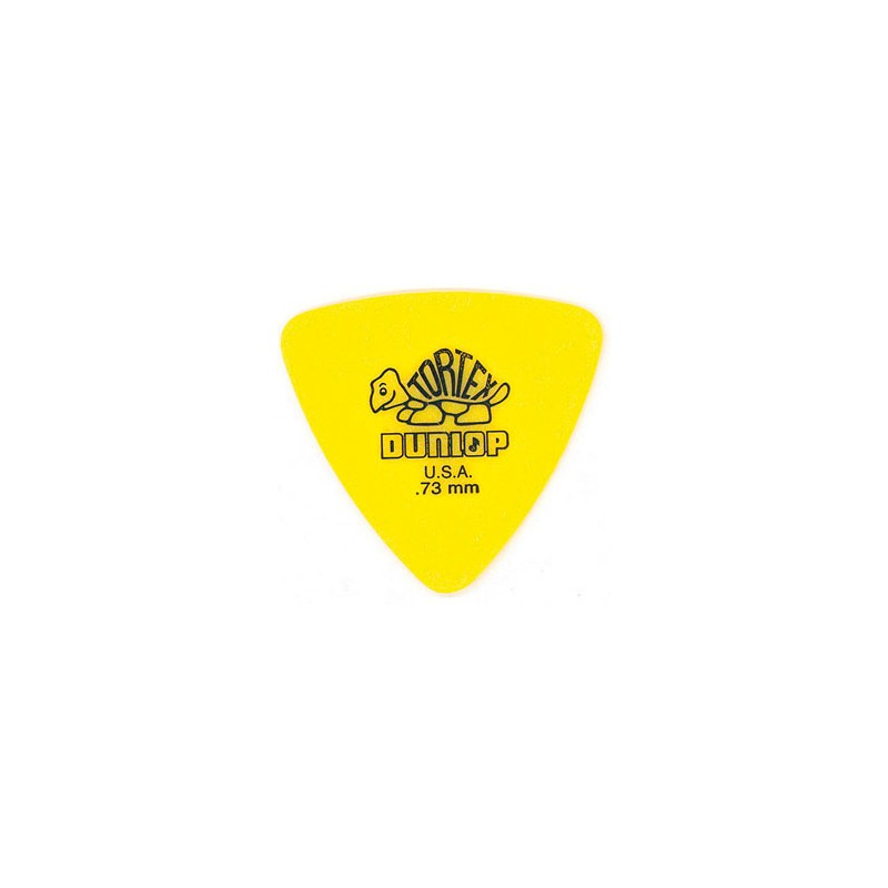 Dunlop 431-R Tortex Triangle 0.73 Mm