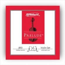 D'Addario J810 Prelude 1/4 Medium Juego