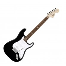 Squier Stratocaster Affinity Rosewood Black