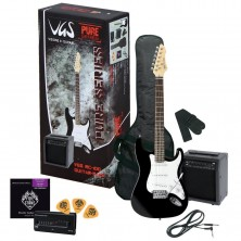 Vgs Guitar Pack Black + Amplificador