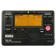 Korg Tm-50Bk Combo Tuner Metronome