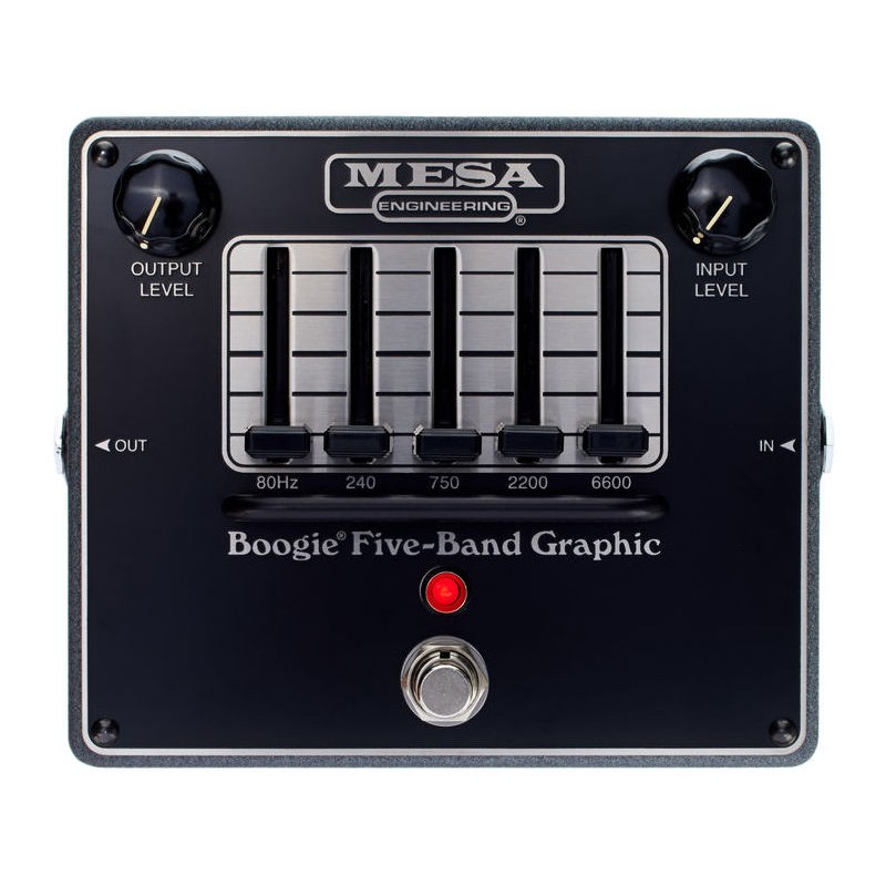 Mesa Boogie Boogie Five Band Graphic