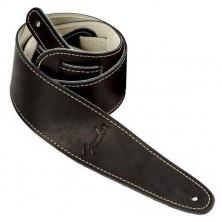 Fender Ball Glove Leather Strap Bk
