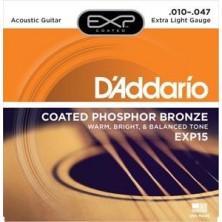 D'Addario Exp15 Phosphor Bronze Extra Light 10-47