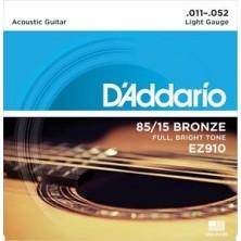 D'Addario Ez910 85/15 Great American Light 11-52