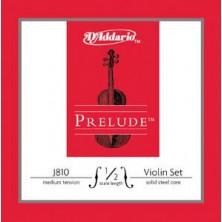 D'Addario J810 Prelude 1/2 Medium Juego