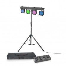 Cameo Multi Par 1 Set Led Lighting + Case + Pedal + Stand