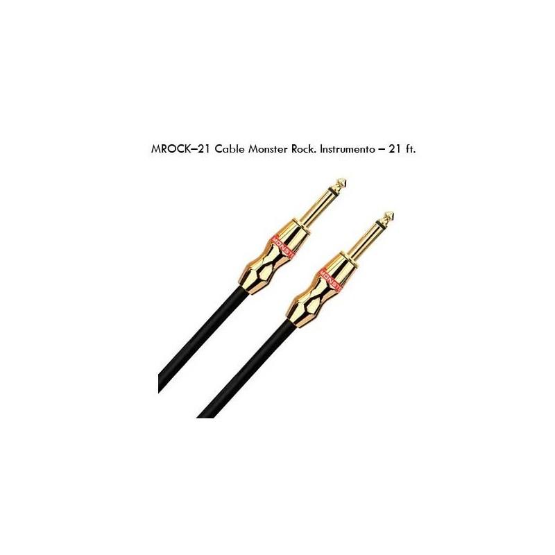 Monster Cable Jack-Jack Guitarra Elec. Mrock