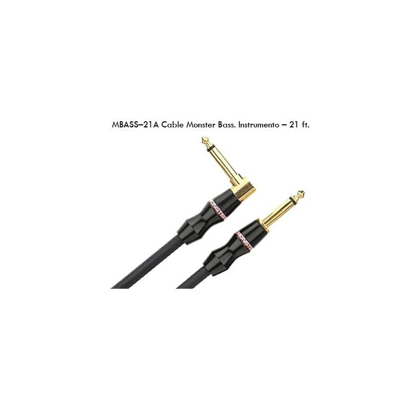 Monster Cable Jack-Jack Bajo Elec. Mbass