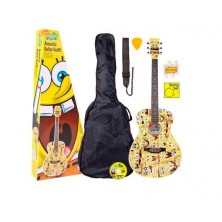 Pack Guitarra Ac?stica Bob Esponja Sbacoft