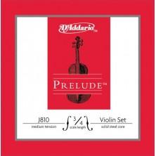 D'Addario J810 Prelude 3/4 Medium Juego