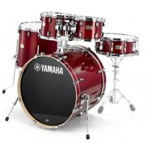 "Yamaha Sbp2F5 Stage Custom Birch Cranberry Red 22"""