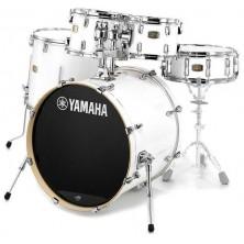 "Yamaha Sbp2F5 Stage Custom Birch Pure White 22"""