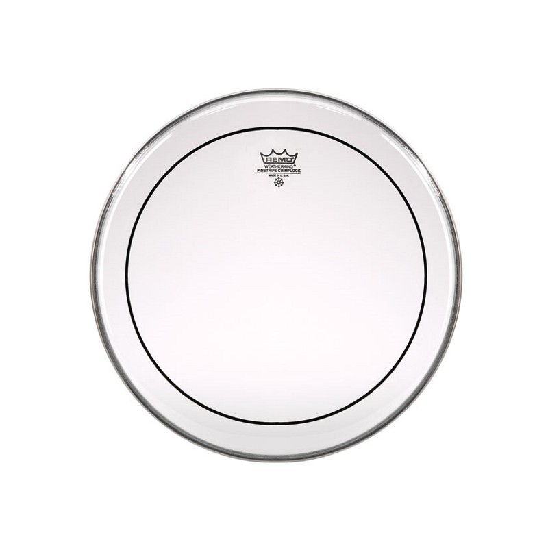 """Remo Ps-1322-00 Pinstripe Clear 22"""""""