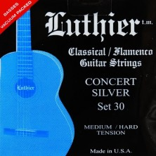Luthier Lu-S4-30 Silver