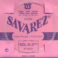 Savarez 523-R Carta Roja