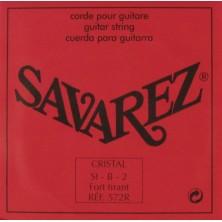Savarez 572-R Cristal Roja