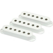 Fender Pickup Covers Strat.White